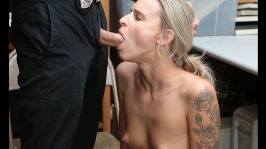 Teen thief Emma Hix begs and fucks for freedom